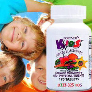 kids vitamin forever livign ultimate aloe vera